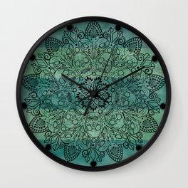 Skulls mandal Wall Clock