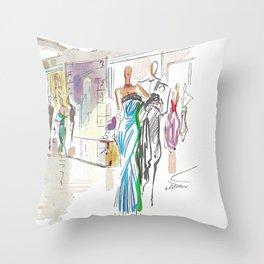 Italian Line Throw Pillow