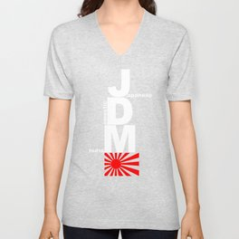 Japanese Domestic Market Unisex V-Neck