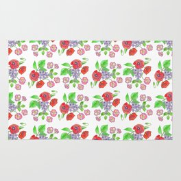 Wild with Wildflowers Rug