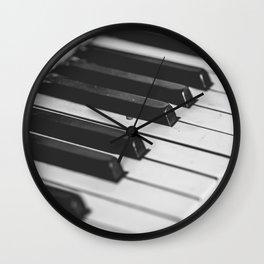 Vintage piano Wall Clock