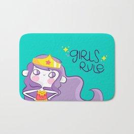 Girls Rule Bath Mat