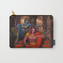 Fight for Nova's Throne (Petra & Yveun from the Loom Saga) Carry-All Pouch
