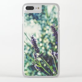 Field of Flowers 10 Clear iPhone Case