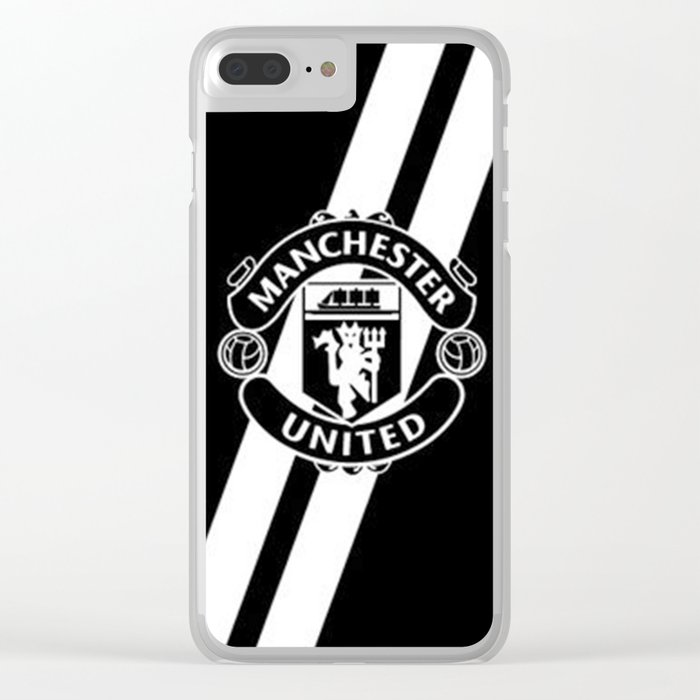 Manchester United Clear iPhone Case