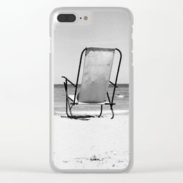 Beach Life - Gone Swimming Clear iPhone Case