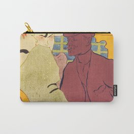 "Henri de Toulouse-Lautrec ""Flirt"" Carry-All Pouch"