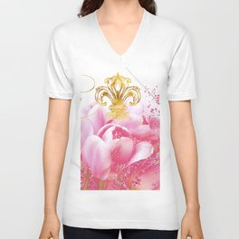 Wedding in Paris Unisex V-Neck