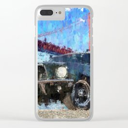Bullit Mustang Clear iPhone Case