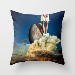 We're Alone Now Throw Pillow