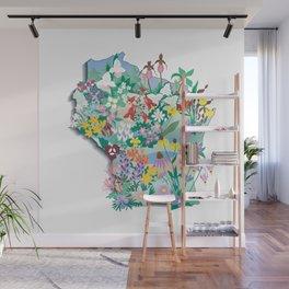 Wisconsin Wildflowers Wall Mural