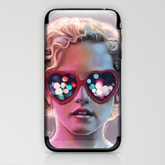 Electrick Girl iPhone & iPod Skin