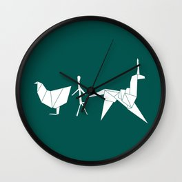 Gaff's Origami Wall Clock