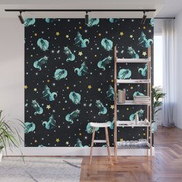 Cosmic Wolf Wall Mural