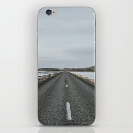 Empty Road - A Love Story iPhone Skin