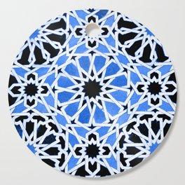 Moroccan Zellige pattern Cutting Board