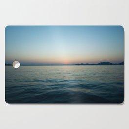 Subtle sunset Cutting Board