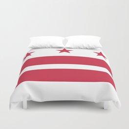 Washington D.C.: Washington D.C. Flag Duvet Cover