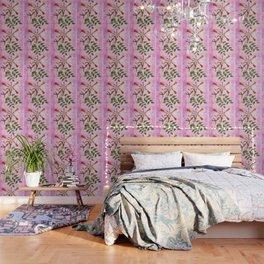 Hummingbird with Trumpet Vine Wallpaper