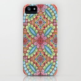 Flower Design iPhone Case