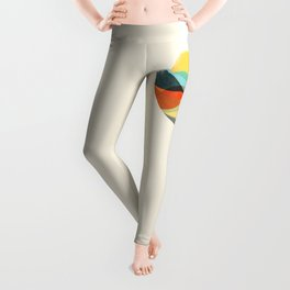 Let the world be your guide Leggings