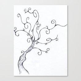 Burton Tree Canvas Print