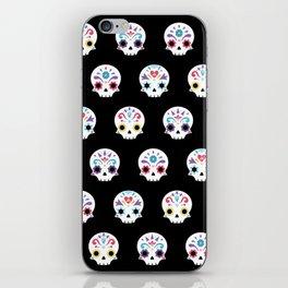 Cute sugar skulls B iPhone Skin