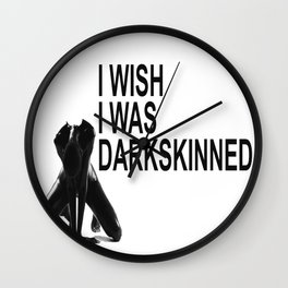 Dark is Beautiful: DARKSKINNED Wall Clock
