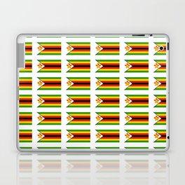 Flag of zimbabwe -Zimbabwe,Zimbabwean,Zimbo,harare,Bulawayo Laptop & iPad Skin