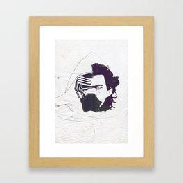 Ben Solo Awakened Framed Art Print