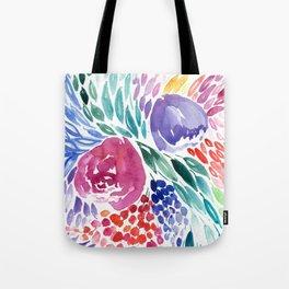 Floral Swirl Tote Bag
