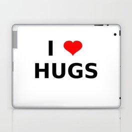 I LOVE HUGS Laptop & iPad Skin