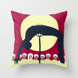 Midwich Cuckoos Design Throw Pillow