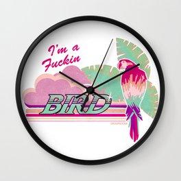 I'm a Bird! Wall Clock