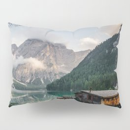 Mountain Lake Cabin Retreat Pillow Sham