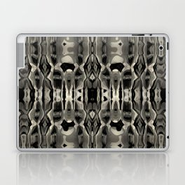 Chaotic Symmetry in Black and White Laptop & iPad Skin