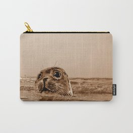 The SEAL - sepia 17 Carry-All Pouch