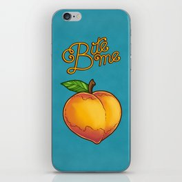 Bite Me iPhone Skin