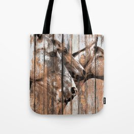 Run With the Horses Tote Bag
