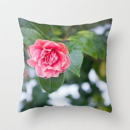 Beauty in Strength Throw Pillow