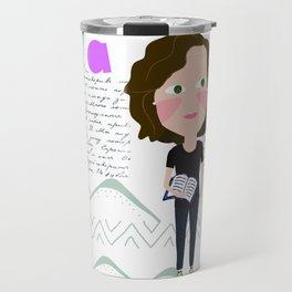 taza marta Travel Mug