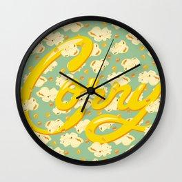 """""""Corny"""" Wall Clock"""