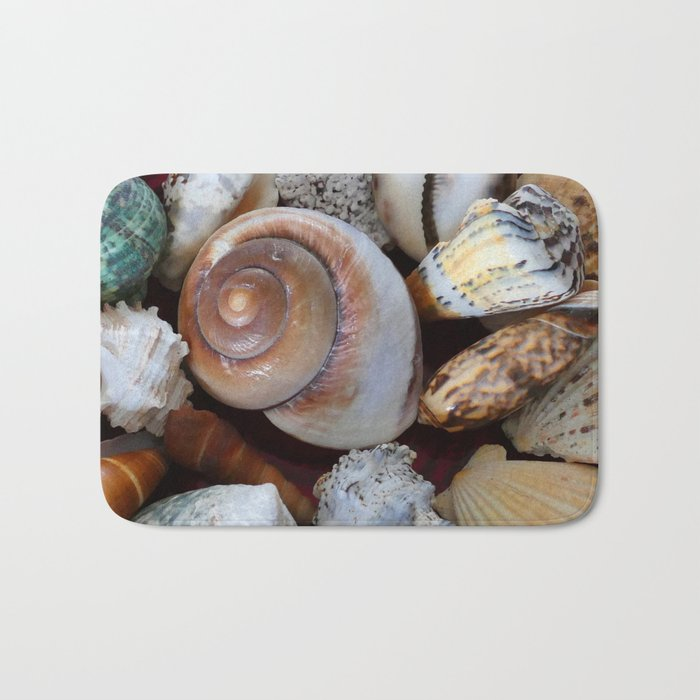 She Sells Sea Shells Bath Mat
