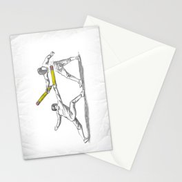 Parry Thrust Pencil Erase Stationery Cards
