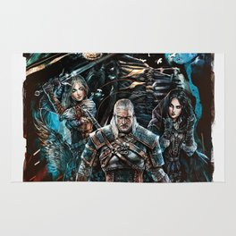 The Witcher Wild Hunt Rug