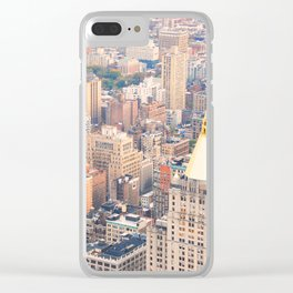 288. High View, New York Clear iPhone Case