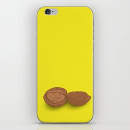 Crack the nut iPhone Skin
