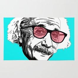 Einstein in summer Rug
