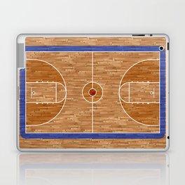 Wooden Basketball Court Laptop & iPad Skin