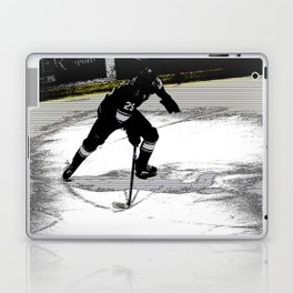 On the Move - Hockey Player Laptop & iPad Skin